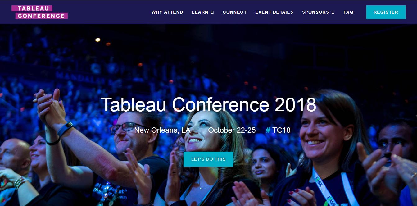 tableu conference 2018