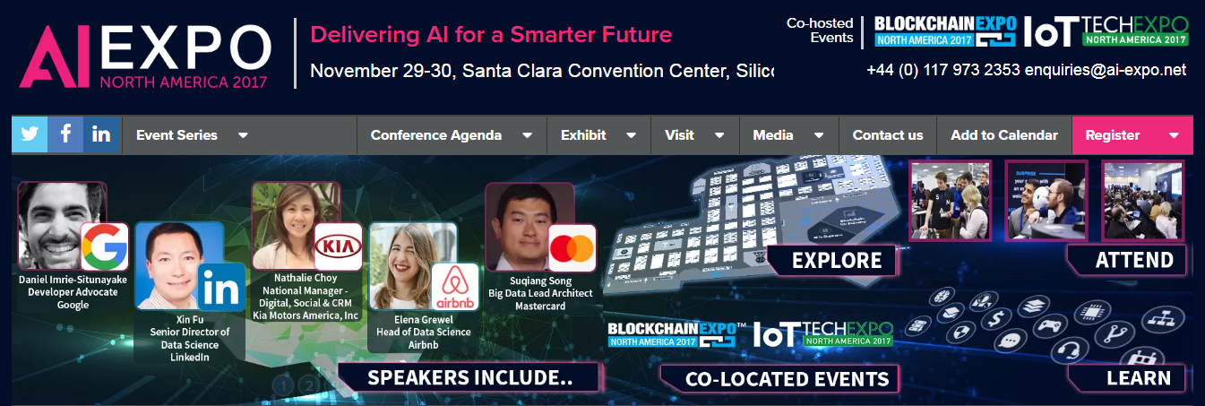 AI expo north america 2017