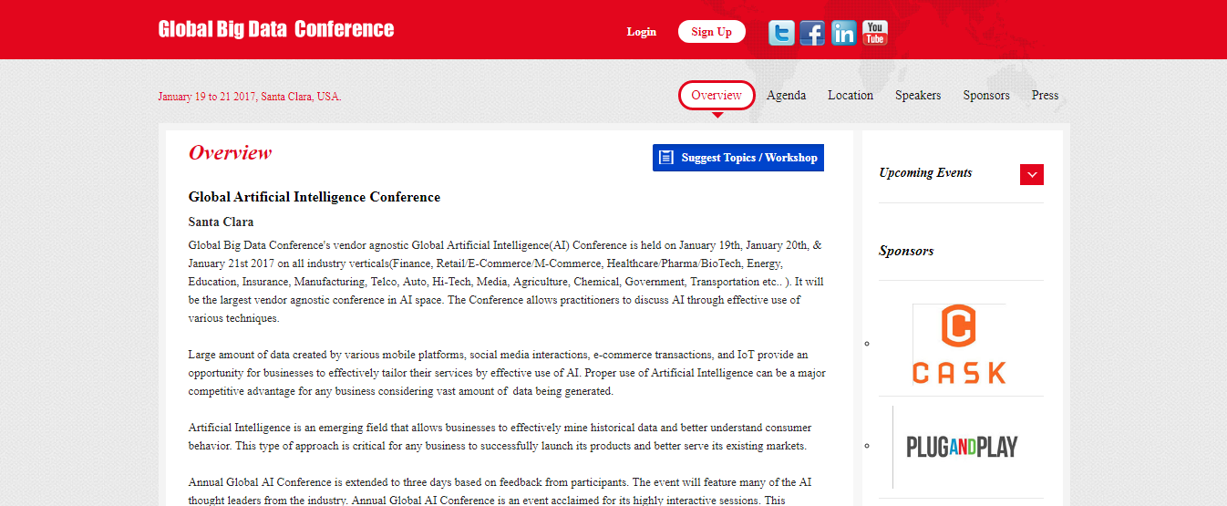 global artificial intelligence conference