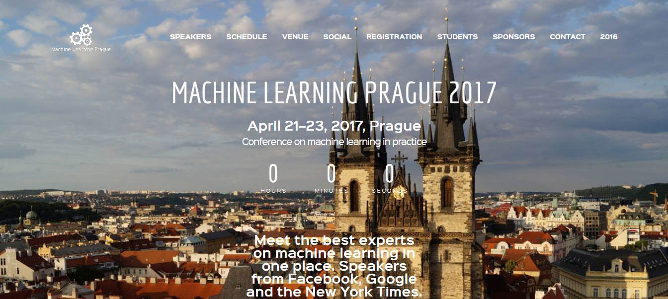 machine learning prague