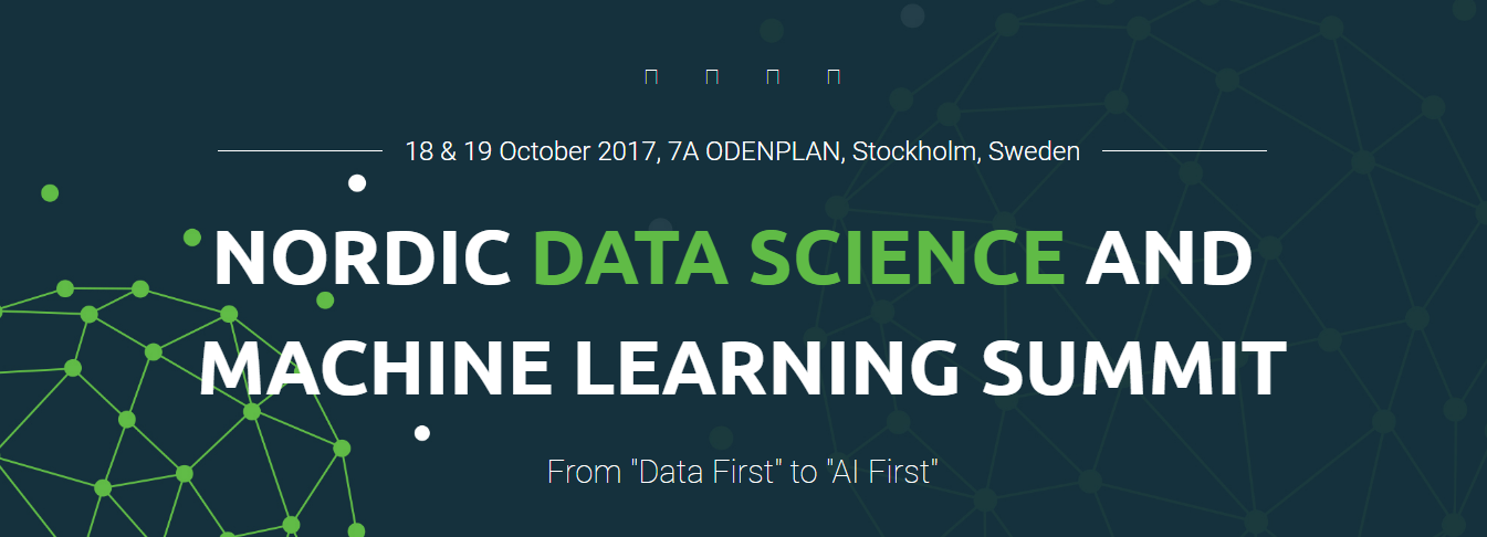 nordic data science and machine learning summit