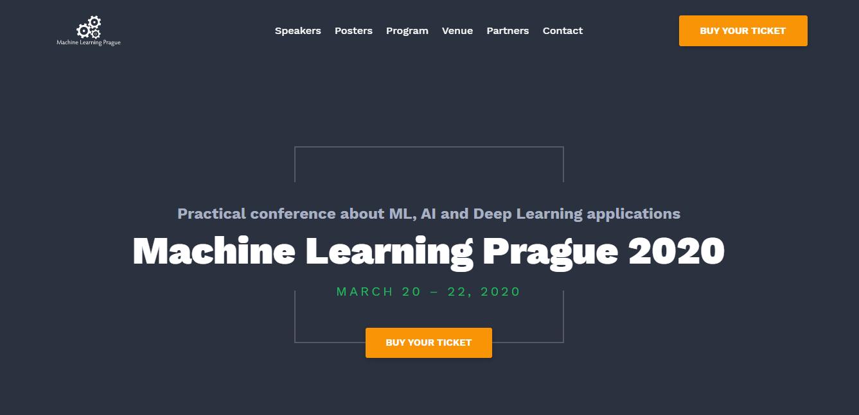 machine learning prague
