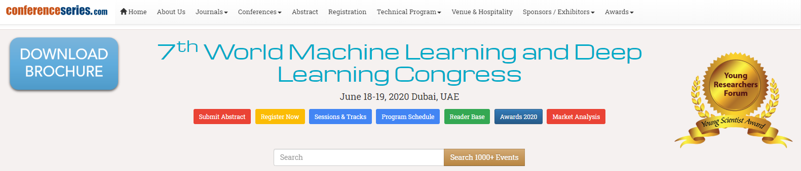 world machine learning and deep learning congress